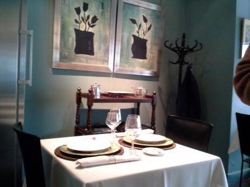 Restaurante Maitia mesa y perchero  Te Veo en Madrid
